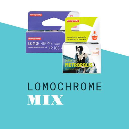 Mix LomoChrome : lot de pellicules
