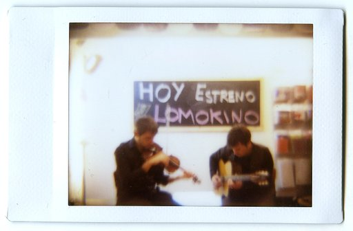 Barcelona - First review of Lomokino launch party