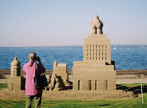 Sweet, Sweet Switzerland: Sand Sculptures in Rorschach