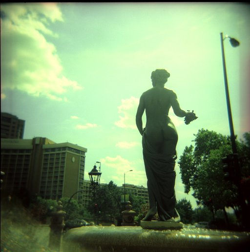 Country Club Plaza, Kansas City, Missouri - Summer Road Trip 2009 - Lomostop #9