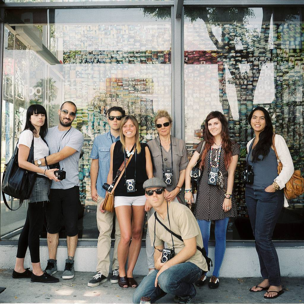 Re-Cap of the Lubitel Lovers workshop at the Lomography Gallery Store LA!