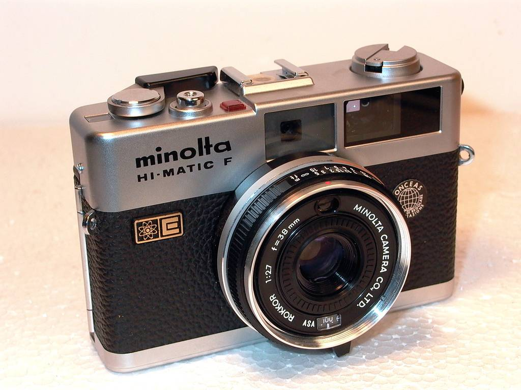 Minolta Hi-Matic F: The Camera That Was Born on the Streets