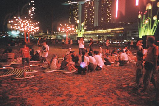 Follow the Stars at the Marina Bay Light Walk