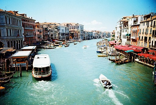 Venice and Lomography X-Pro Chrome: A Perfect Match