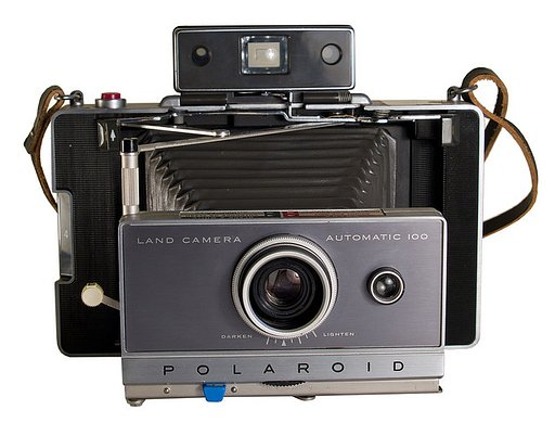 Lomopedia: Polaroid Automatic Land Camera 100