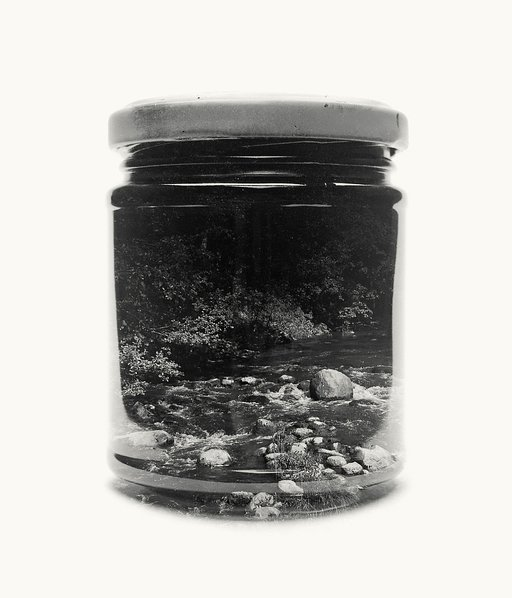 Christoffer Relander: Jars Doubly Exposed in Analogue