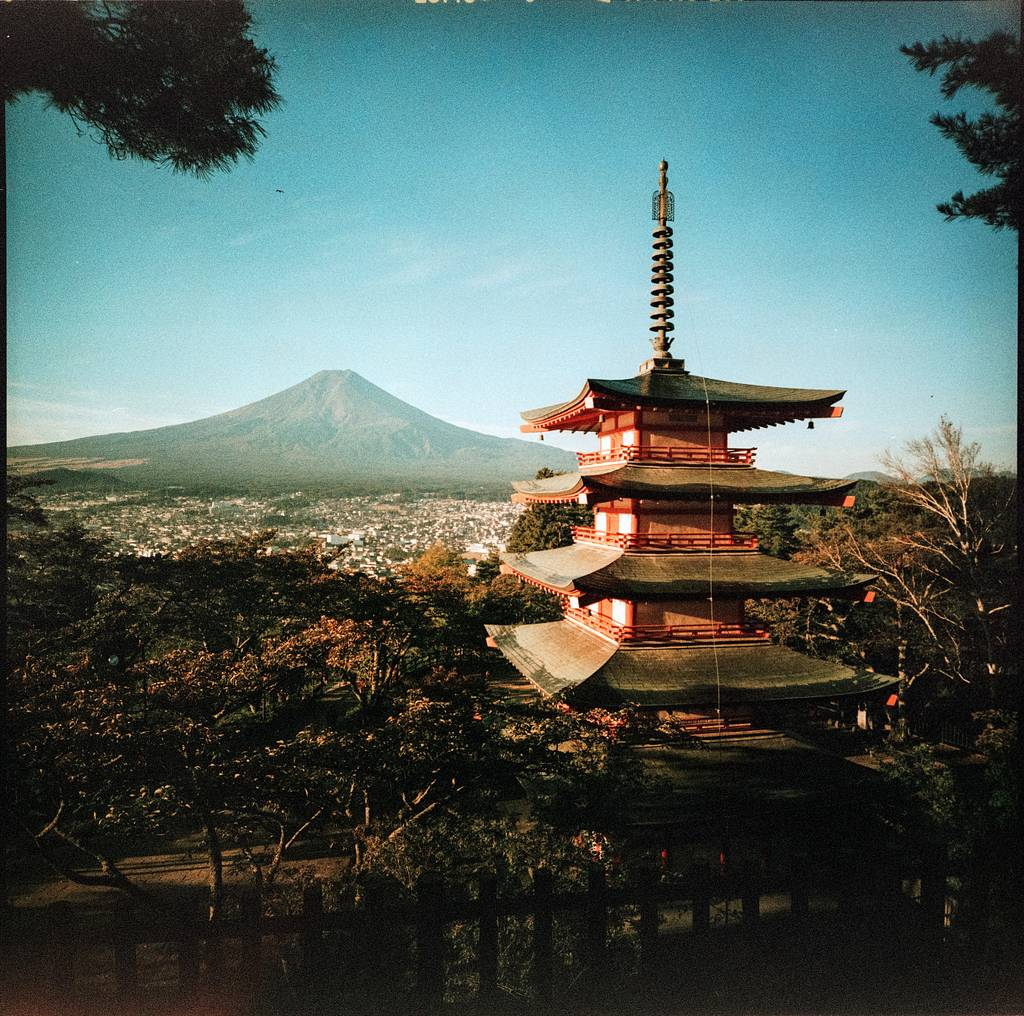 A Ticket to Japan with the LC-A 120 and the Lomo'Instant Wide Cameras