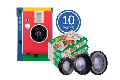Big Savings on Instax Mini Films with the Lomo'Instant Murano + Instax Film Bundles!