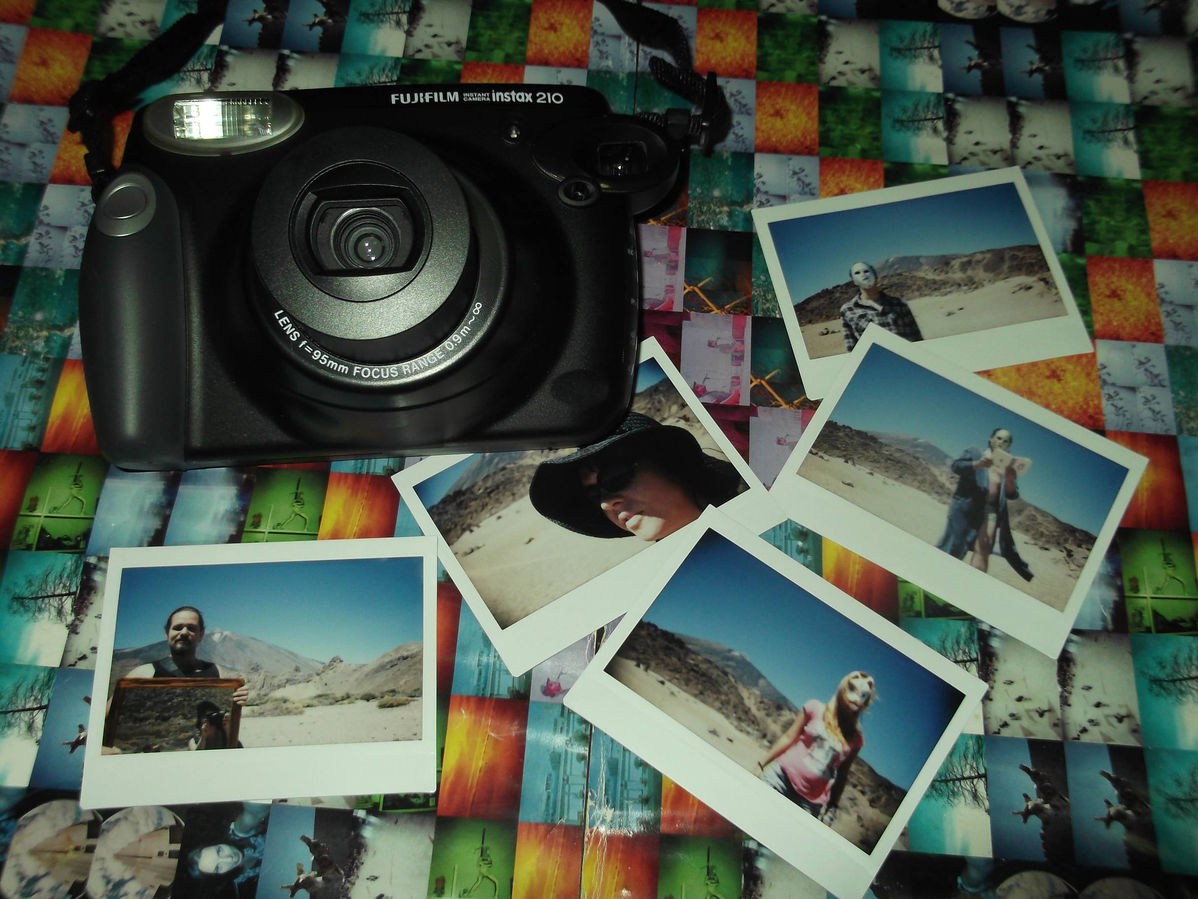Previously I Had Tried A Friends Fuji Instax Mini Camera But The Photo Size Like Credit Card Didnt Satisfy Me So Decided To Buy My Father