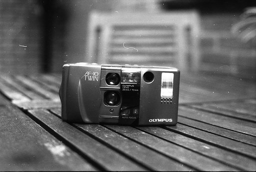 The Olympus AF-10 Twin: the Twin Lens Refl... er, Rangefinder