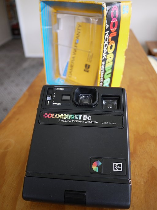 Second-Hand Shopping: Kodak Colorburst 50