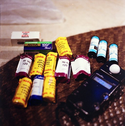 Lomography Guide to Film: Introduction to Film Formats