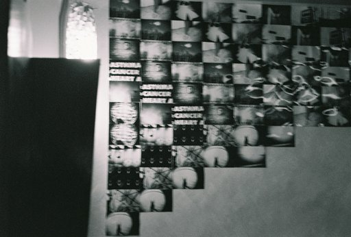Our Humble Lomowall in Crammer's Cafe