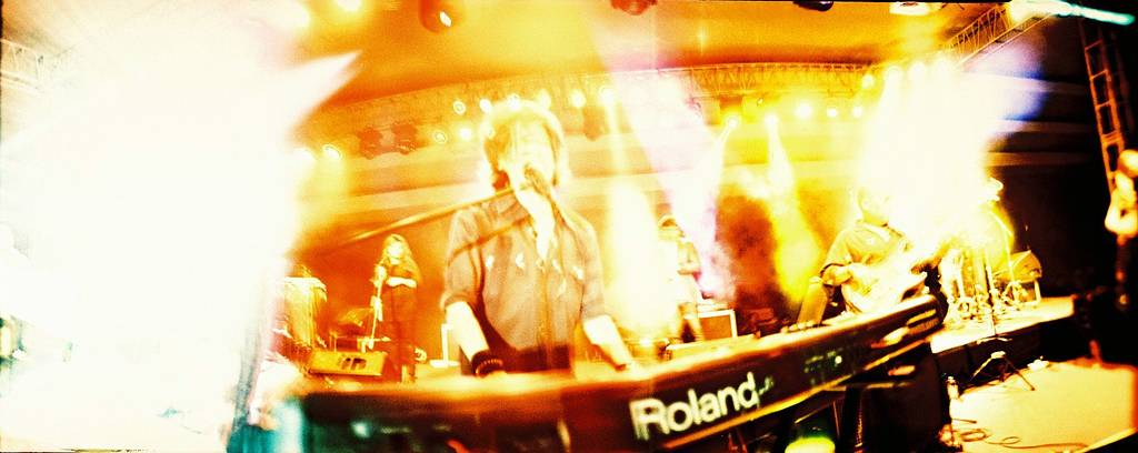 Attempting Concert Lomography by Photographing Indonesian Music Legend Fariz RM