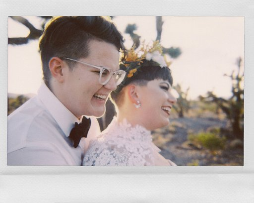 Four Weddings and an Instant Camera: Gaby Jeter's Instant Wedding Pictures