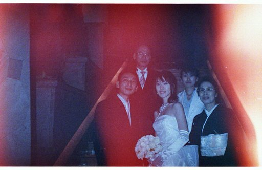 LomoAmigo Duo Finds Old Wedding Photos from a Thrifted Camera