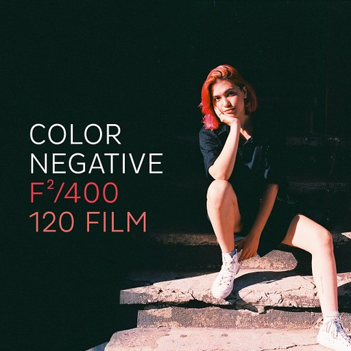The F²/400 Color Negative is back in 120 format!
