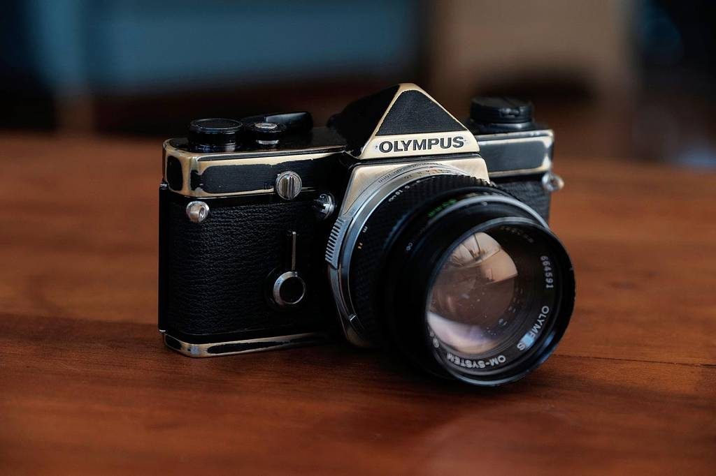 Gear Envy - Olympus OM Brasser by Heath from Shoot Analog