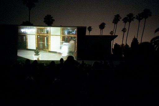 Movie Screening at Hollywood Forever Cemetery