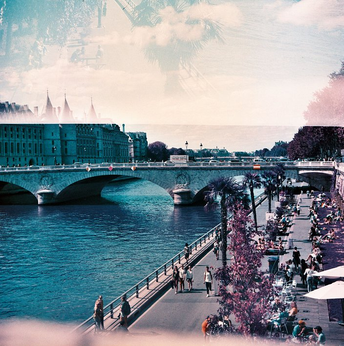 Lomography x LE BHV MARAIS : Paris in Square