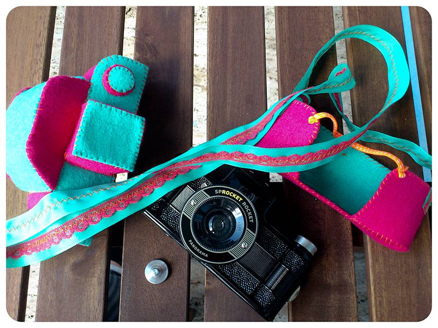 DIY Felt Bag for the Sprocket Rocket