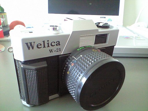 Welica w-21, toy camera at its finest!