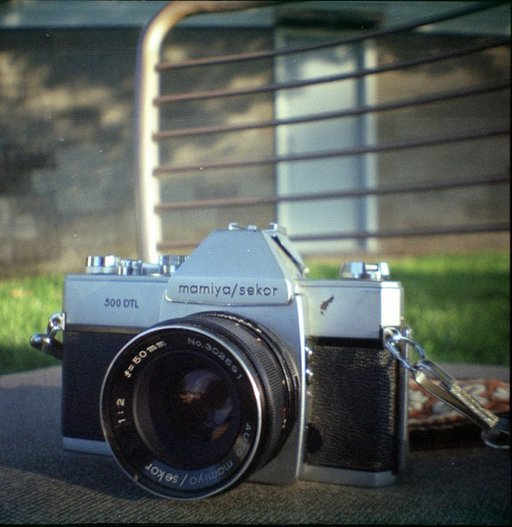 Everybody, This is the Mamiya/Sekor 500DTL. 500DTL, This is Everybody.