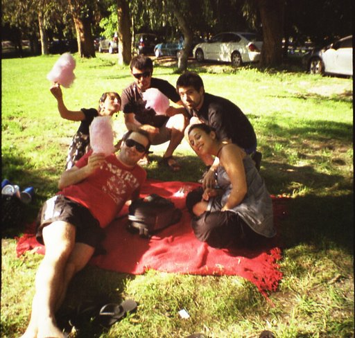 Picnic Day to Escape the Heat
