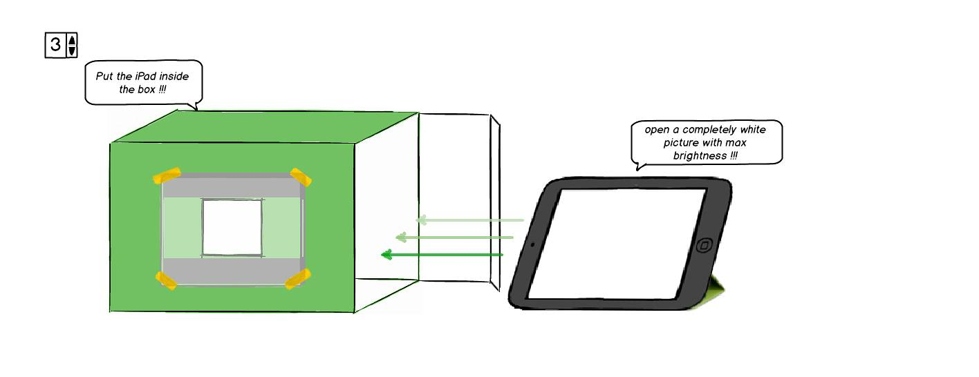 diy film scanner with an ipad and a dslr camera lomography