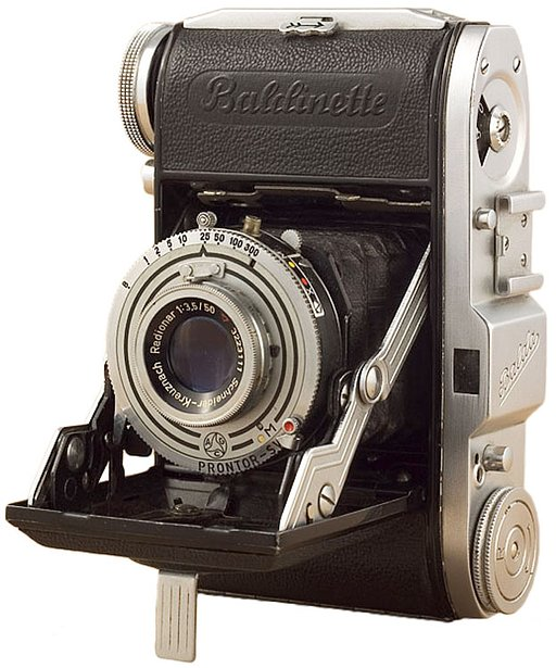Balda Baldinette - A Little German Folding Camera