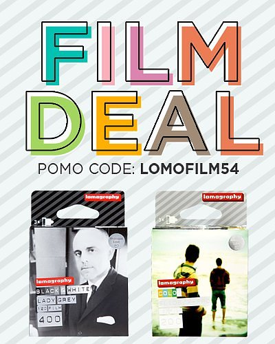 Fantastische deals op Lomography Films deze week!