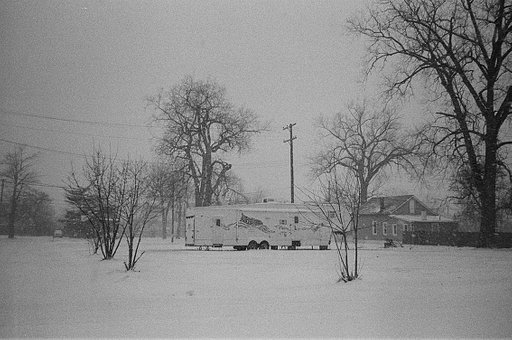 Detroit in Winter by Amandine Besacier With the Lomography B&W 400 35mm Berlin Kino Film