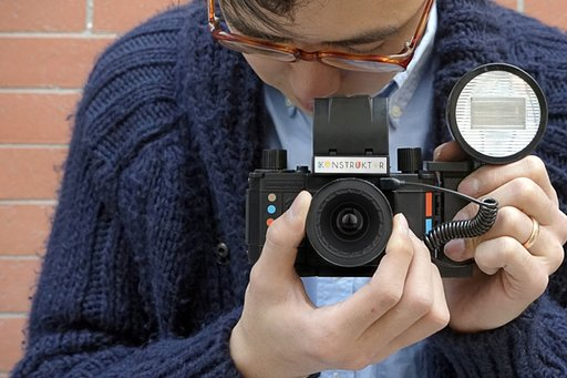 Build Your Own Analog Slr Camera with the Konstruktor!