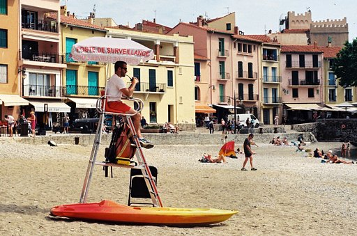 Around the World in Analogue: Collioure, France