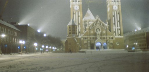 Szeged Under Snow