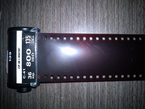 DIY Redscale Film