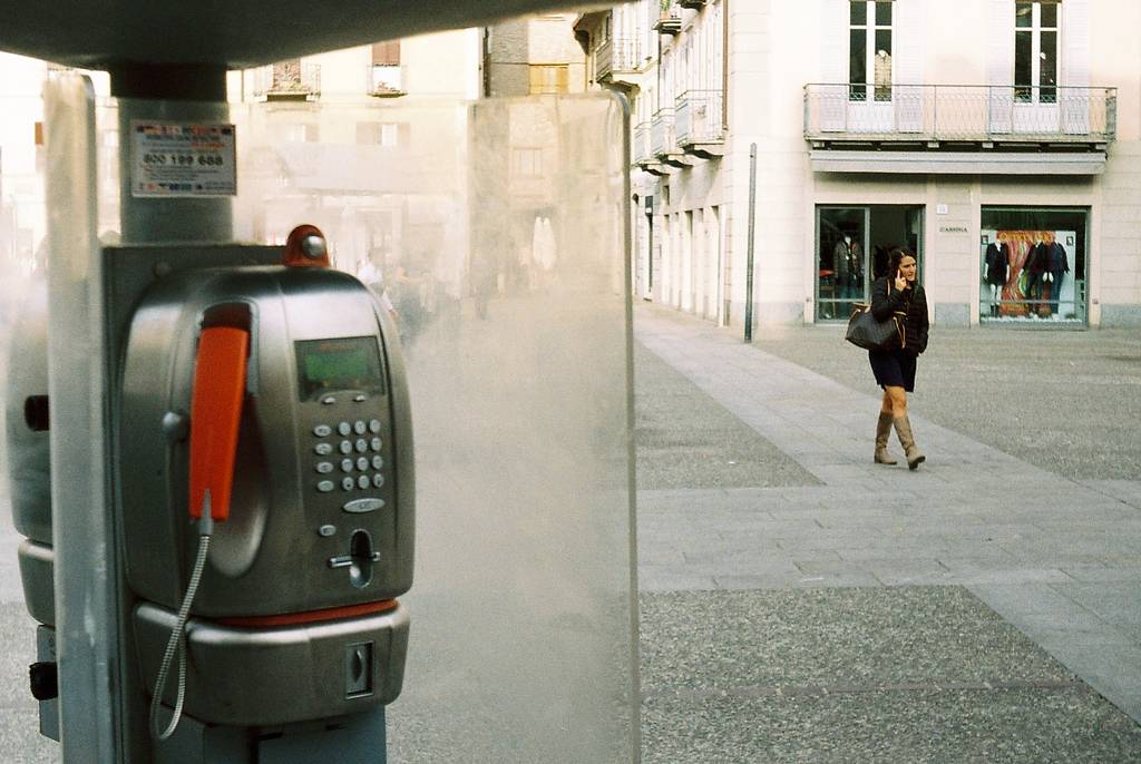 A Salute to the Masters: Mobile Communications (A Tribute to Raymond Depardon)