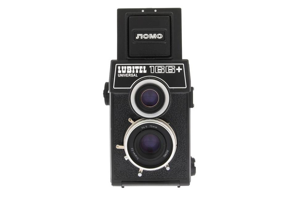 Lomo Lubitel 166+ vs Blackbird, Fly Focus