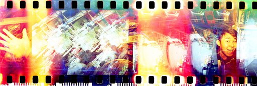 Experiment with Two Cameras, Two Color Processes, and Mix Coke