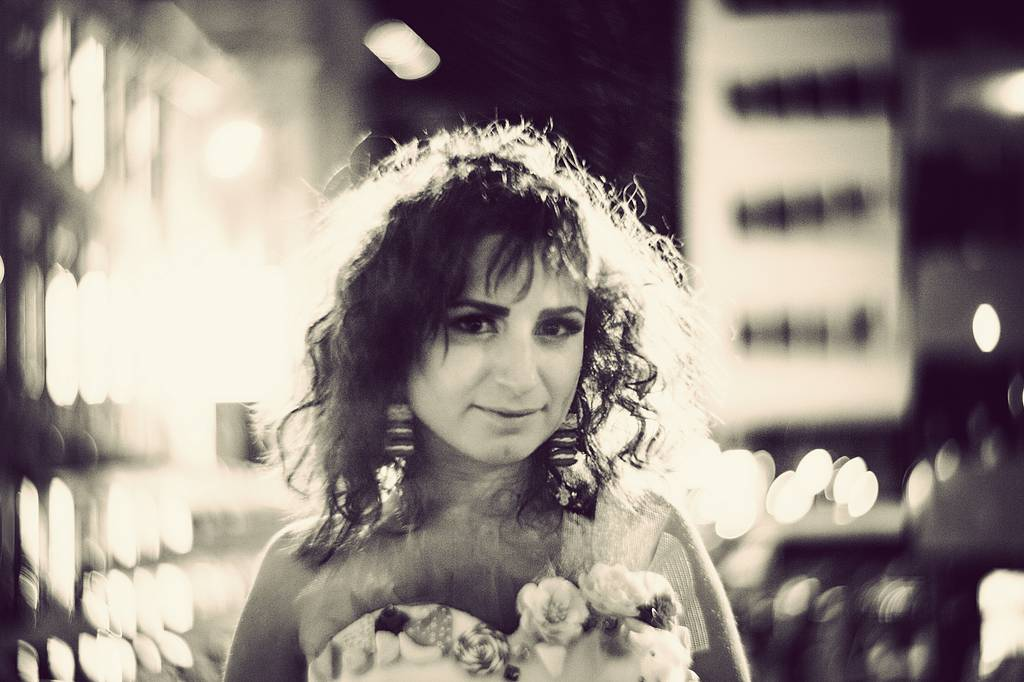The Candy Bride: Behind the Scenes with the New Petzval 85 Art Lens