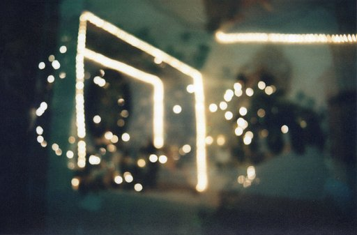 Double Holiday Bokeh Using Manual Focus Lens and Double Exposures