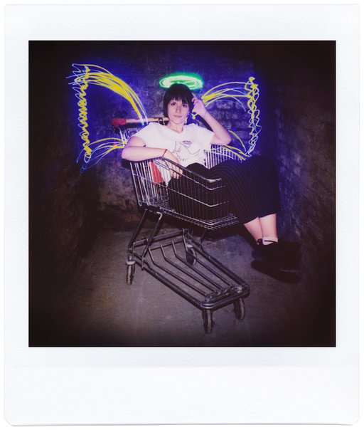 Awesome Light Painting Shots with the Diana Instant Square!