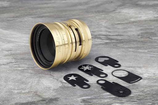 Petzval 55 mm f/1.7 MKII Art Lens 黃銅版到貨了!