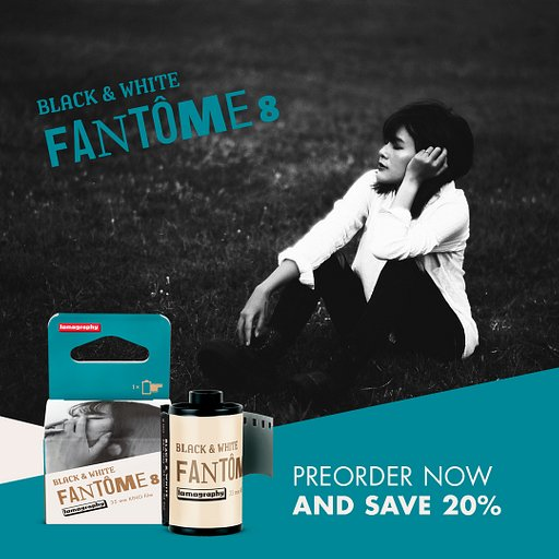 Capture the Drama of Your Everyday Existence With the Fantôme Kino B&W ISO 8!