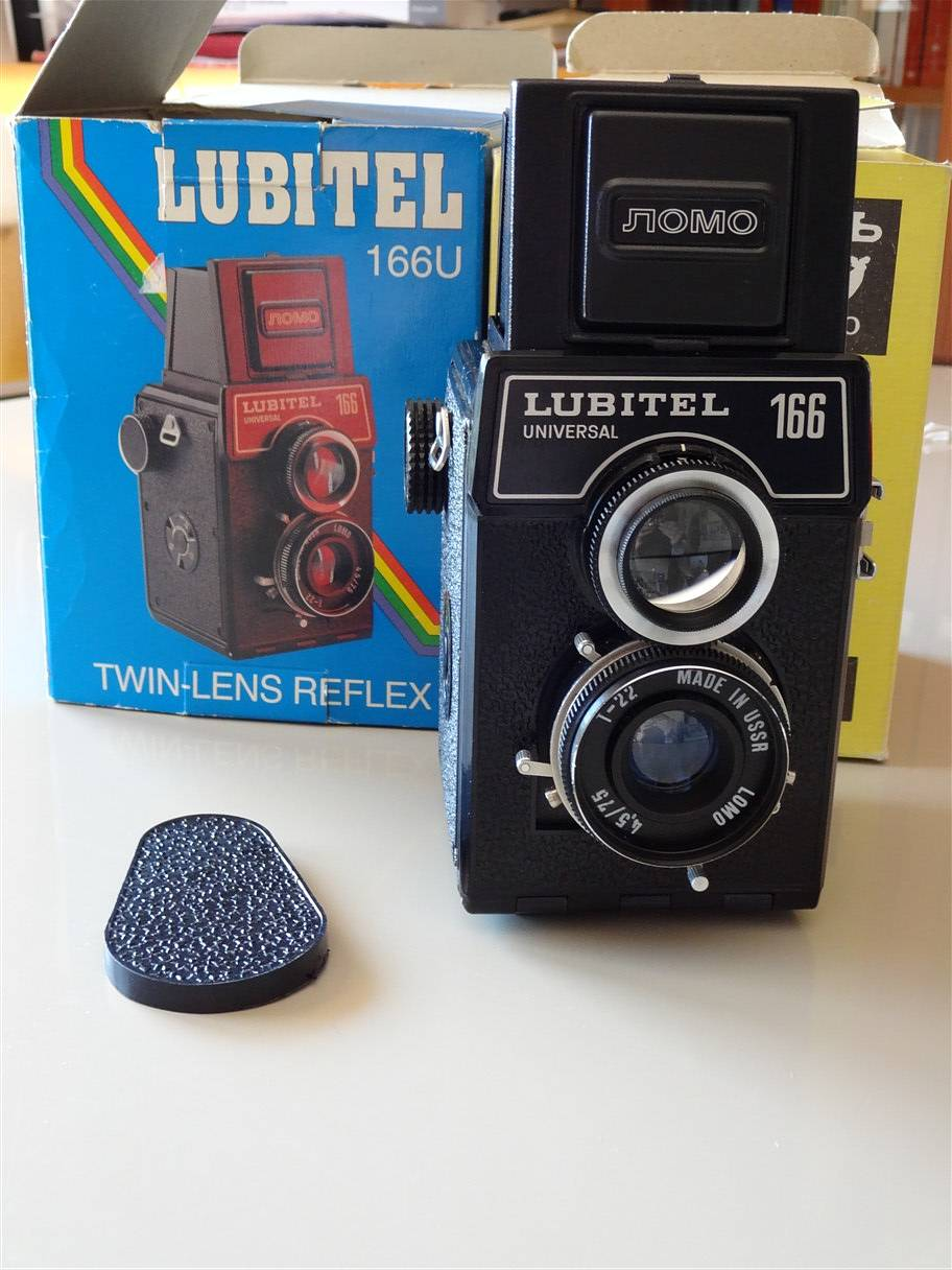 Lomography Mini Mariinski Russia Day T Instant Camera Lenses San Sebastian Edition The Lubitel 166u Was Produced At Lomo Factory In Leninigrad Now St Petersburg As Final Evolution Of 166 Series Which Also Includes