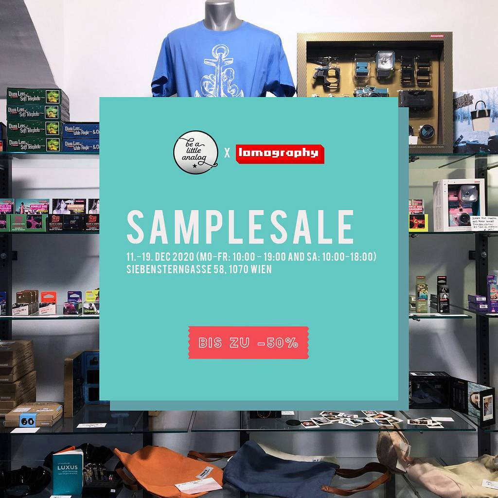 Sample Sale at Be A Little Analog