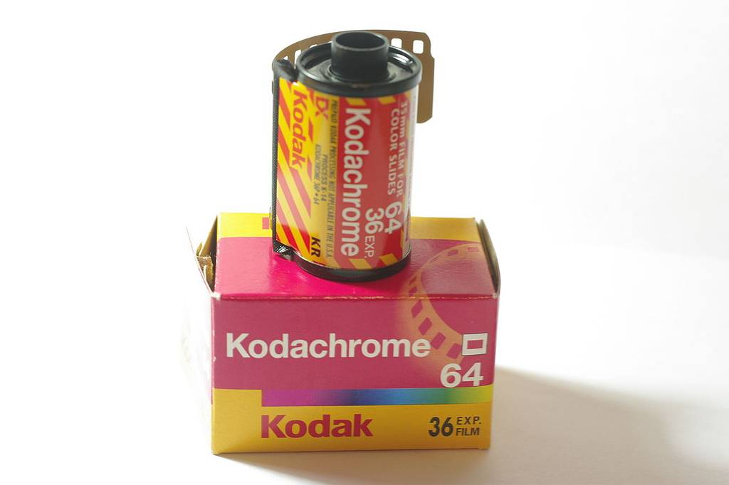 Processing a Kodachrome 64 In B&W