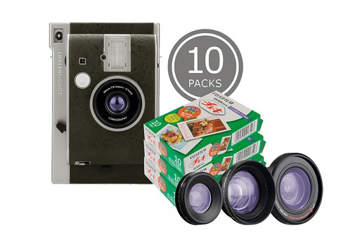 Save up to 20% on Instax films when you buy the new Lomo'Instant Oxford Bundles!
