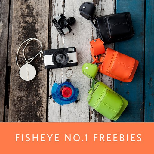 Grab a Fisheye No. 1 Camera and Get Fantastic Freebies!
