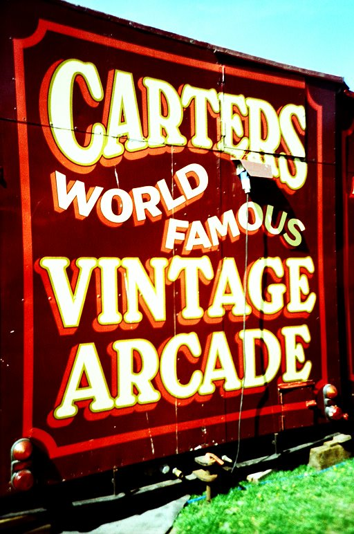RECAP: Carters Steam Fair - Lomowalks in London